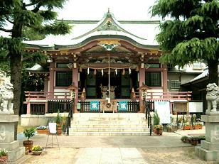 今戸神社 本殿30%